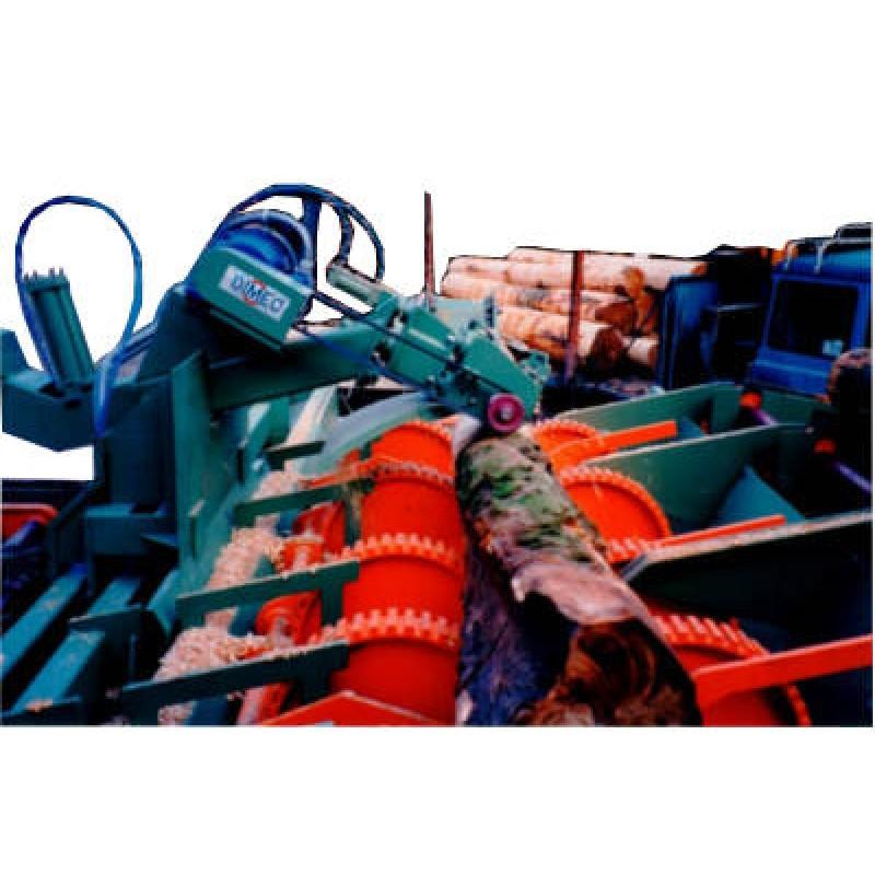 Debarking Machine - Log Stripper