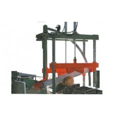 Logs Facing/Sectioning Machine with chain-blade Mod. IST-1580