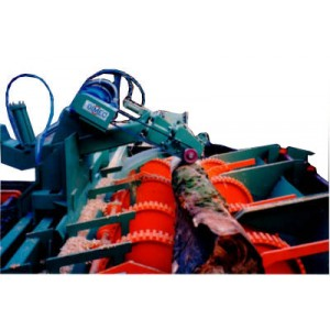 Debarking Machine - Log Stripper