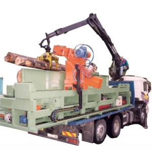 Debarking Machine on Truck DBT001